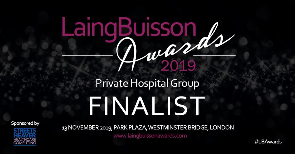 Finalist LaingBuisson Awards 2019